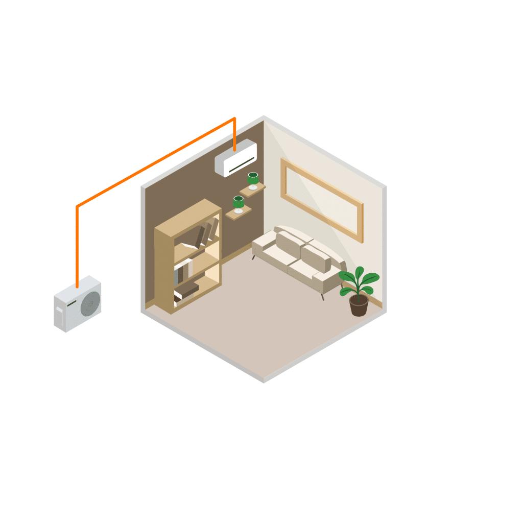 installation climatisation mono-split