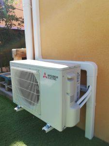 Climatisation réversible Mitsubishi